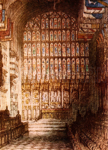 St George's Chapel, picture, image, illustration