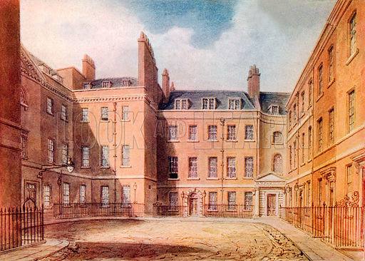 Downing Street, picture, image, illustration