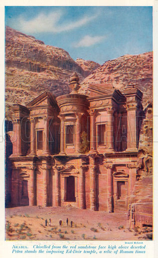 Petra, picture, image, illustration