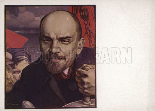 Lenin, picture, image, illustration