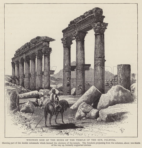Palmyra, picture, image, illustration