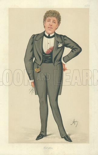Oscar Wilde, picture, image, illustration