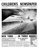 Front page of The Children's Newspaper