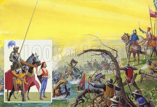 Hawkwood's White Company, picture, image, illustration