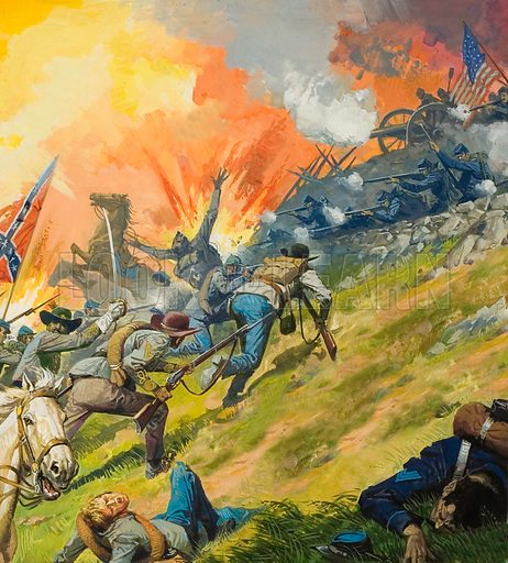 The Battle of Gettysburg.  This was the turning point in the American Civil War.  Victory gave the Federal army complete control of the Mississipi.