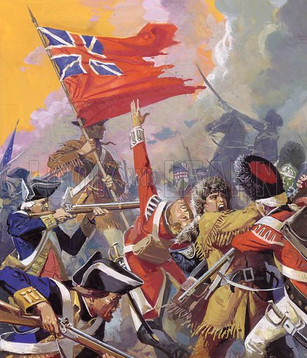 The battle of Saratoga during which the English suffered a crushing defeat.