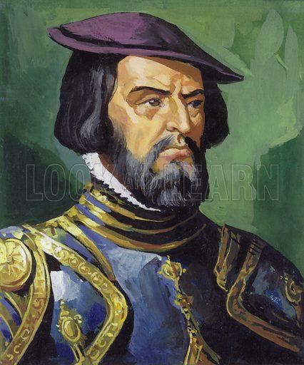 Hernando Cortes (1485–1547).