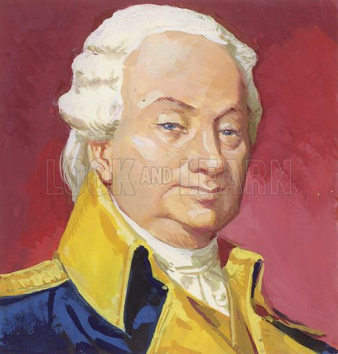 Henry Knox, who rose to become Commander-in-Chief of the American army in 1783.