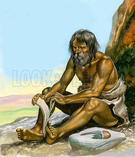Stone Age Man.