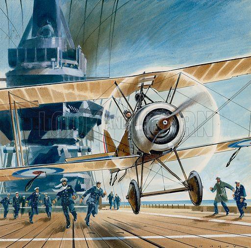 The First Deck Landing