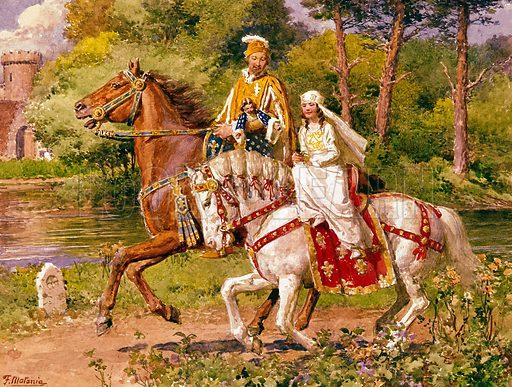 Richard II, picture, image, illustration