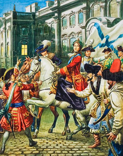 Catherine the Great,  picture, image, illustrationv