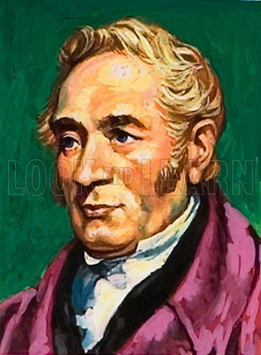 George Stephenson.