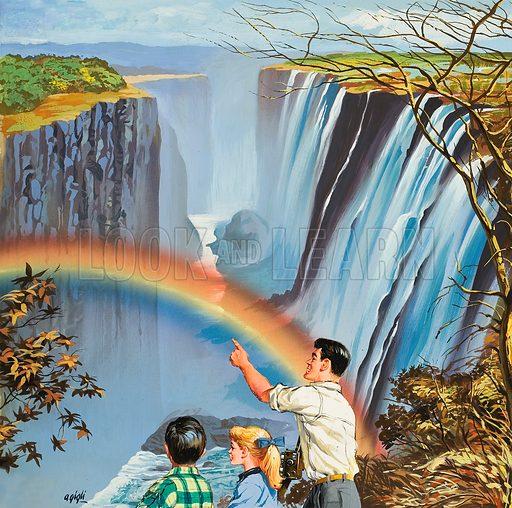 Rainbow, picture, image, illustration