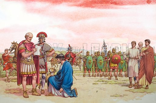 Romano British Appeal to General Aetius. A plea for help failed to arouse General Aetius's sympathies. He was far too busy with problems of his own.