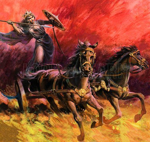 Boadicea, picture, image, illustration