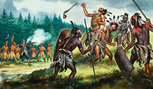 Native Americans of the Iroquois Confederacy, North America. The Five Nations of the Iroquois Confederacy held key stategic areas between the French and English colonies. In peace they could dominate the fur trade; in war they could change history.