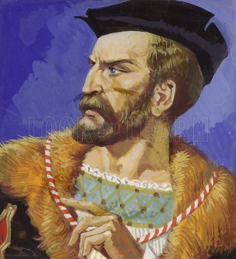 """Jacques Cartier, """"Father of Canada""""."""