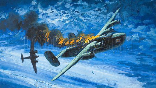 BOAC Liberator, picture, image, illustration