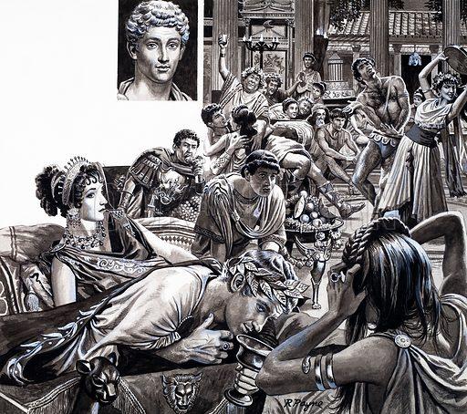 Commodus, picture, image, illustration