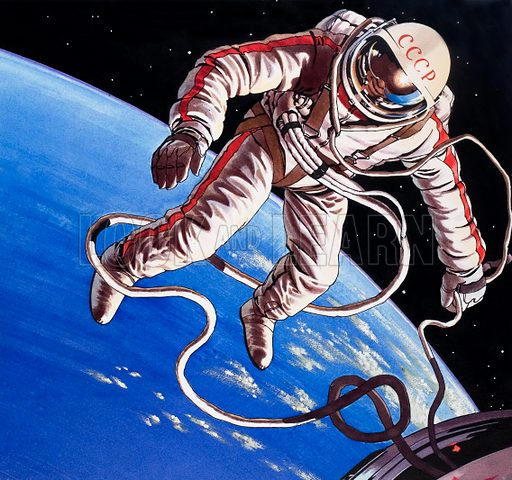 cosmonaut, picture, image, illustration