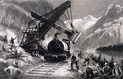 Canadian Pacfic Railway, picture, image, illustration