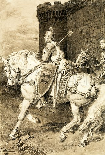 A Pageant of Kings: The Mighty King of Chivalry. Richard the Lion Heart.