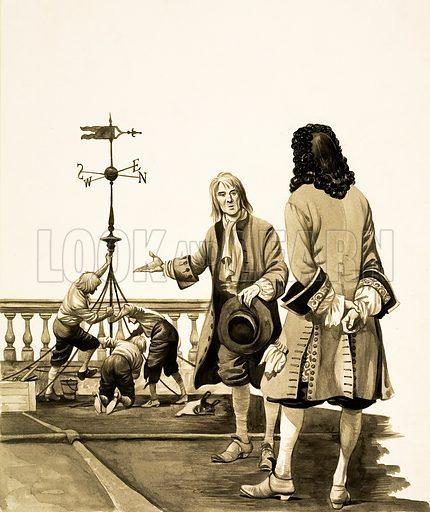 The Wonderful Story of Britain: The Last of the Stuart Kings. Original artwork from Treasure no. 132 (24 July 1965).