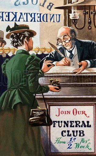 Funeral club.
