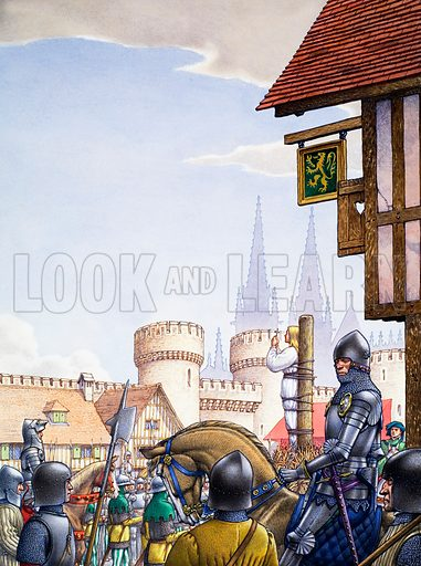 Burning of Joan of Arc, picture, image, illustration