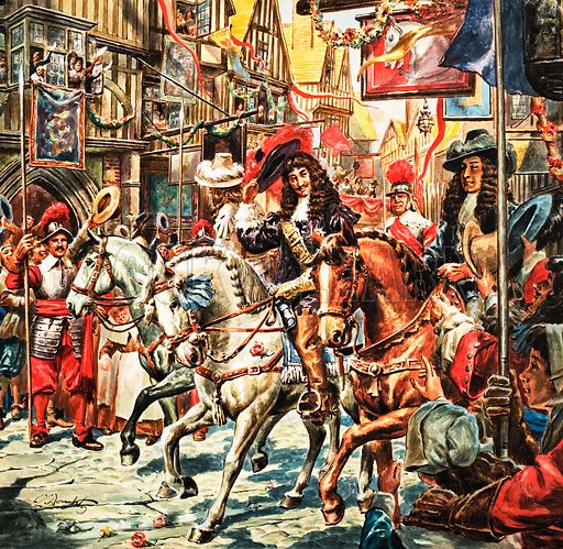 Story of Our Capital: Plague Over London. Charles II.