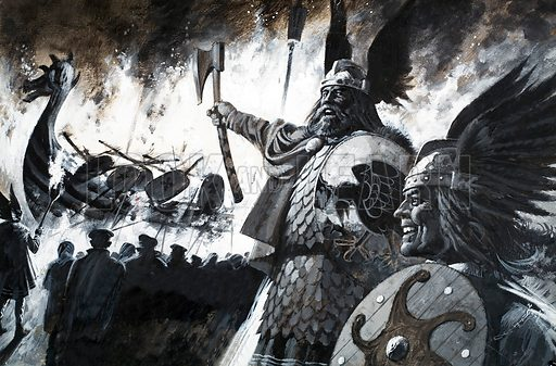 Up Helly Aa, picture, image, illustration