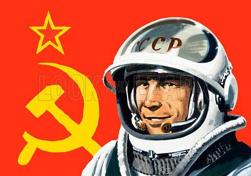 cosmonaut, picture, image, illustration