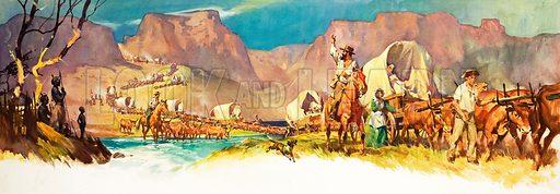 Unidentified African scene.