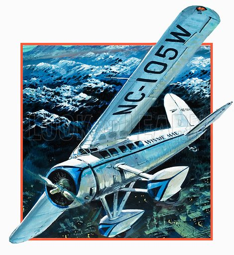 Unidentified aircraft. Original artwork (dated 22 March).
