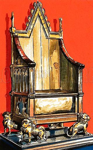 Coronation chair.