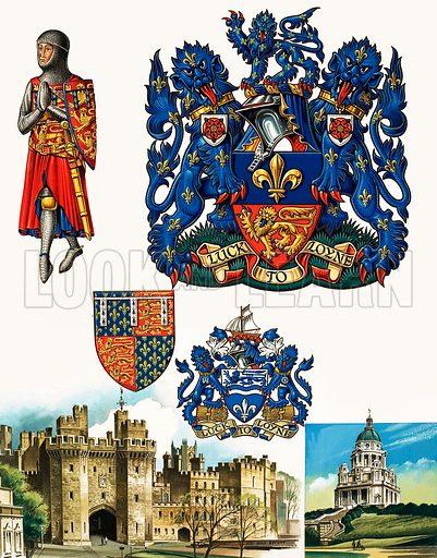 Lancaster, picture, image, illustration