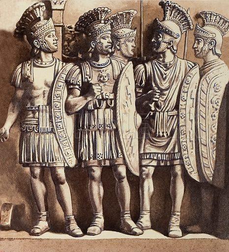 The Praetorian Guard of ancient Rome.