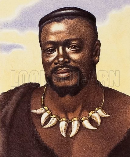 Chief Cetewayo of the Zulus.