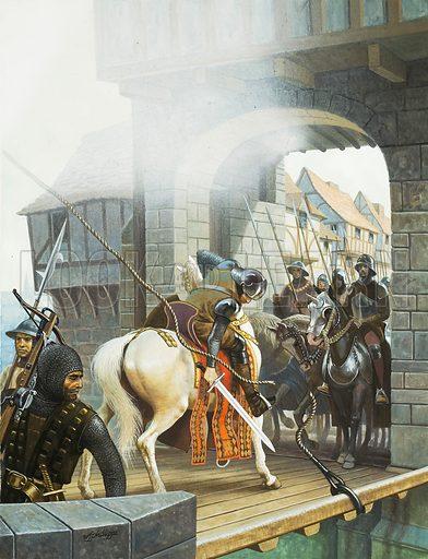 Jack Cade, picture, image, illustration