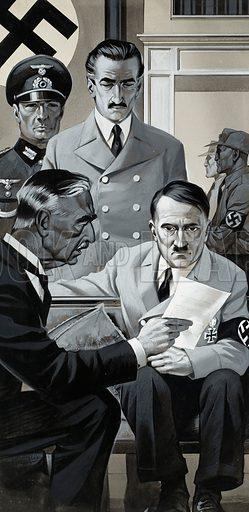 picture, Neville Chamberlain, Adolf Hitler