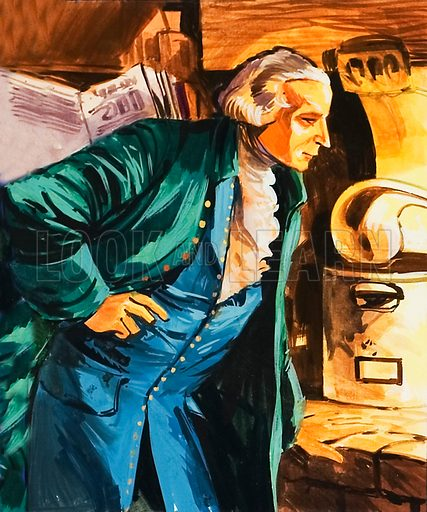 Antoine Lavoisier, picture, image, illustration