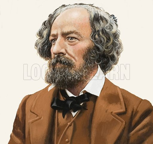 Tennyson, picture, image, illustration