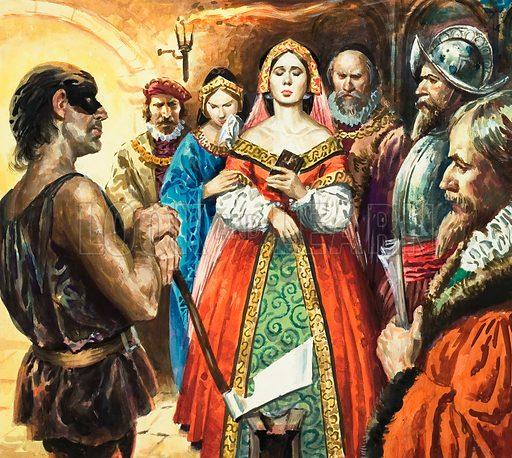 Mary Stuart, picture, image, illustration