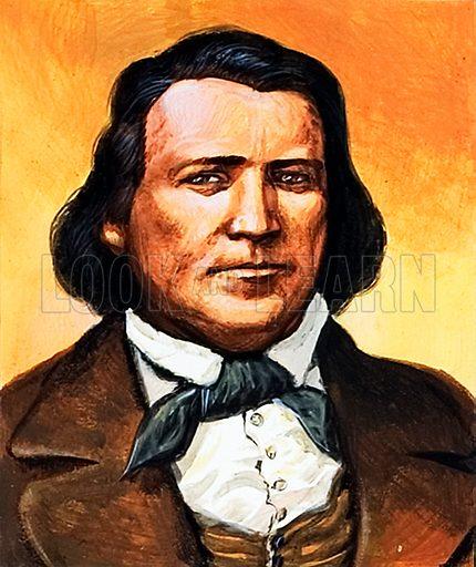 Brigham Young, Mormon.