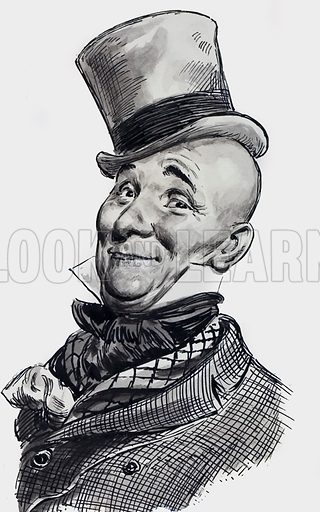 Mr Wilkins Micawber from David Copperfield by Charles Dickens.