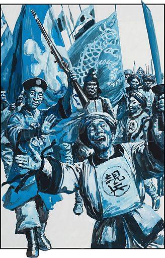 Boxer Rebellion, picture, image, illustration
