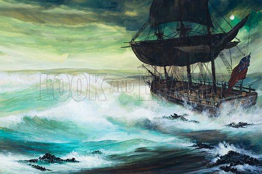 Captain Cook, picture, image, illustration