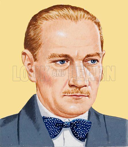 Ataturk, picture, image, illustration