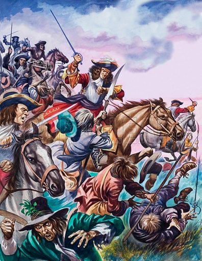picture, Battle of Sedgemoor